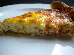 Quiche à la pancetta, oignons et Comté