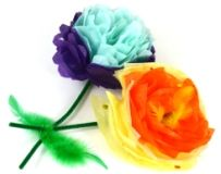 These beautiful paper mache flowers will make a great gift for Mum on Mother's Day! See all our flower themed Mother's Day crafts here: http://www.littlecraftybugs.co.uk/seasonal/mothers-day-crafts/flowers.html