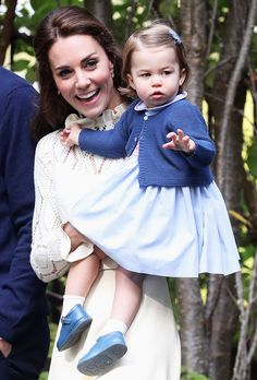 Kate Middleton's Cream Dress for an Afternoon with Her Kids Is Straight Out of a Fairy Tale from InStyle.com