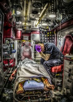 Image result for paramedic sleeping cartoon