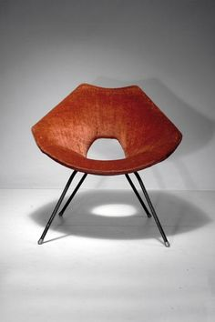 Augusto Bozzi; Easy Chair for Saporiti, c1956.