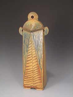 JOHN  NICKERSON Tall Lidded Jar