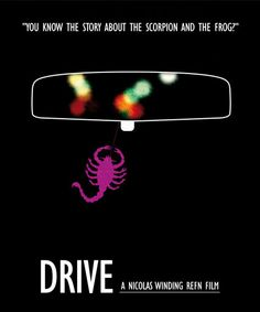 Drive Minimalist Movie Poster Print Ryan by SuddenGravityPosters