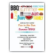 Summer BBQ Party Invitations | PaperStyle