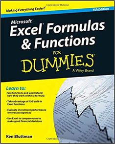 Amazon ❤ Excel Formulas and Functions For Dummies: Ken Bluttman: 9781119076780: Amazon.com: Books