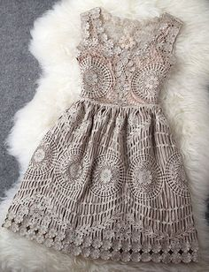 Lace dress. YES YES YES!! Lots of detail without being overpowering, blingy or risky.