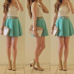 Cute girly outfit. <3