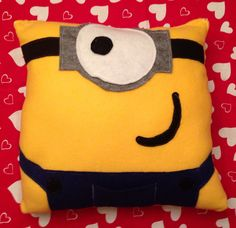 Minion pillow for my nephew