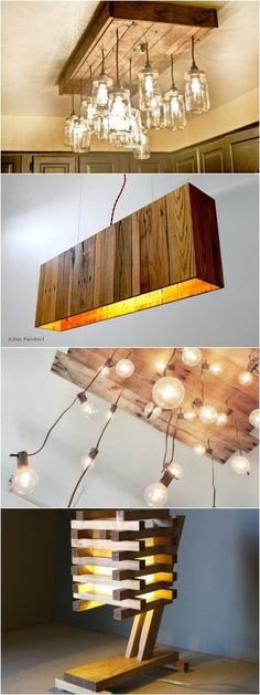 Top 10 Best Inventive Ideas to Recycle Wood Pallets into Lamps