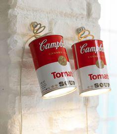 """30 Ideen für den modernen Einrichtungsstil: Hängeleuchte """"Canned Light"""" von Ingo…"""