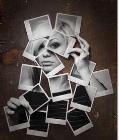New Photography Ideas Portrait Creative Photoshop Tutorial 17 Ideas Polaroid Collage, Art Du Collage, Polaroids, Polaroid Camera, Photography Projects, Creative Photography, Art Photography, David Hockney Photography, Abstract Photography