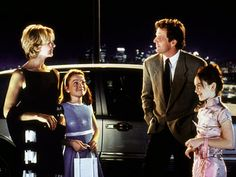 "Dennis Quad, Natasha Richardson, Lindsay Lohan(x2) in ""The Parent Trap"" - a fun film that affirms marriage, family, and God."