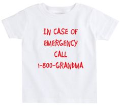 "The Spunky Stork ""1-800-Grandma"" T-Shirt"