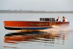 Miss America IX, 1930 Garwood race boat.