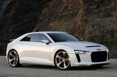 New Audi Sport Quattro Laserlight Concept Car