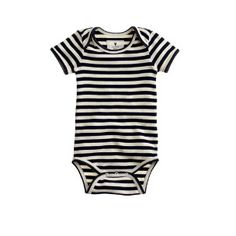 Baby one-piece in classic stripe | J.Crew Baby