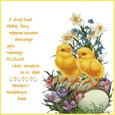 Kartka świąteczna 🐇💟🐓🌷🐇💟🐣🐓 Happy Easter Gif, He Is Risen, Gods Grace, Animals And Pets, Diy And Crafts, Holiday, Painting, Anna, Polish