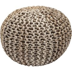 Beautifully rustic with natural tones and comfort filling, this splendidly-style choco candy pouf is an ideal addition to any soothing and serene decor. Jute, Kare Design, Sit Back And Relax, Industrial Chic, Home Bedroom, Rustic Wood, Old World, Decorative Accessories, Studio