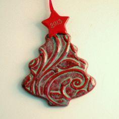 pottery Christmas ornaments - Google Search                                                                                                                                                                                 More