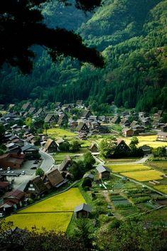 une petite ville japonaise