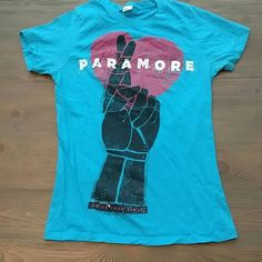 Paramore Tshirt (Fits a like a Junior Small) Paramore Tshirt (Fits a like a Junior Small) Tops Tees - Short Sleeve