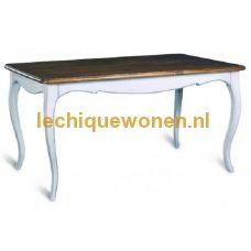 Eetkamer tafel Residence long wit