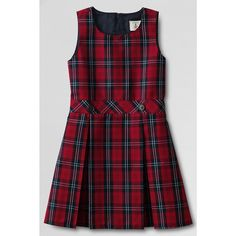 Lands End-School Uniform Girls' Plaid...     $40.00
