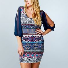 Take a look at the True-Blue Style in Plus-Sizes event on zulily today! Up to 60% off