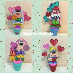 Paper Piecing, Cake Toppers, Doodles, Valentines, Baby Shower, Cards, Diy, Ideas, Amor