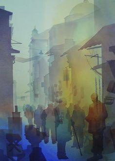 Watercolour by Ali Yanya