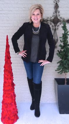 c6ca484f7e84 50 IS NOT OLD | HOW TO DRESS FOR A CASUAL HOLIDAY PARTY | FASHION OVER