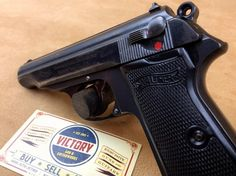 Rare 1938 Dated Pre-WWII Walther PP 9mm Kurz .380   Victory Guns & Guitar Works, LLC