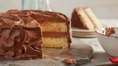 A simple and delicious scratch recipe for an all-time classic cake and frosting combo.
