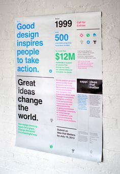 Sappi Ideas that Matter 2013 Call for Entries