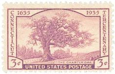 1935 3c Connecticut Tercentenary - Catalog # 772 For Sale at Mystic Stamp Company