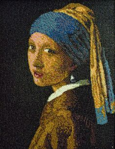 jellybeans, Girl with the Pearl Earring