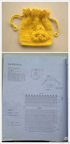 Crochet Mini Bag - Chart
