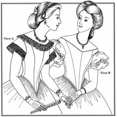 Ball Gown Bodice Pattern — Past Patterns Historical Costume, Historical Clothing, Vintage Sewing Patterns, Clothing Patterns, Sleeping Beauty Costume, Victorian Gown, Bodice Pattern, Antique Clothing, How To Make Shorts