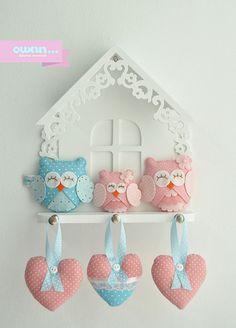 Móbile de parede, para decorar o quarto de Laurinha ♥♥