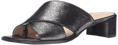 Nine West Women's Nonstop Metallic Dress Sandal ** Wow! I love this. Check it out now! : Slides sandals
