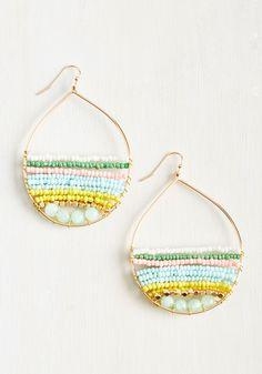 Just Bead It Earrings, #ModCloth