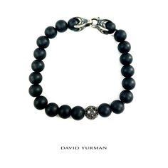 This David Yurman bracelet features a single bead with black diamonds surrounded with spiritual black onyx beads on a cable cord with a strong clasp. To purchase, call (615) 256-3547. We ship! Featured items: David Yurman bracelet $348 - #nashville #consignment #menswear #designerconsignment #nashvillenow #mensstyle #mensfashion #nashvillefashion #nashvillestyle #luxuryconsignment #sartorial #dapper #styleformen #stylishmen #flipnashville #davidyurman