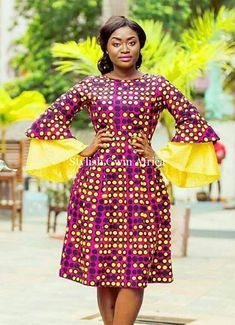 Most stylish collection of ankara short gown styles of 2019 trending today, try these short ankara gown styles African Print Dresses, African Print Fashion, Africa Fashion, African Fashion Dresses, African Dress, Fashion Prints, Ankara Fashion, African Prints, African Outfits
