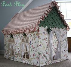 fairy fabric playhouse