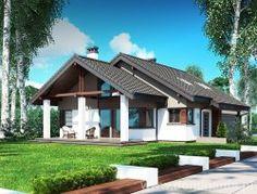 projekt domu Nel II 2G www.dominanta.pl
