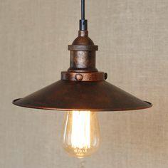 31.67$  Buy now - https://alitems.com/g/1e8d114494b01f4c715516525dc3e8/?i=5&ulp=https%3A%2F%2Fwww.aliexpress.com%2Fitem%2FLoft-Vintage-Rust-Color-Pendant-Lamp-E27-Iron-Metal-Retro-Northern-Europe-Industrial-Style-Edison-Pendant%2F32667192428.html - Loft Vintage Rust Color Pendant Lamp E27 Iron Metal Retro Northern Europe Industrial Style Edison Pendant Lights 31.67$