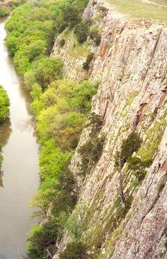 Medicine Creek, running through the Wichita Mountains near Lawton, OK