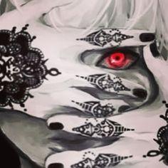 uta tokyo ghoul tattoo cerca con google cosplay pinterest tattoo ideen und ideen. Black Bedroom Furniture Sets. Home Design Ideas