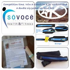 Enter to win: A double zip pocket workout belt and a home workout | http://www.dango.co.nz/s.php?u=UGfgSjui1540