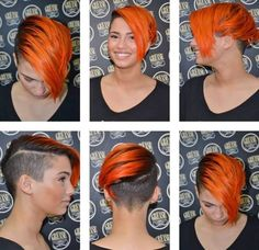Cut, color, everything looks great. #hair